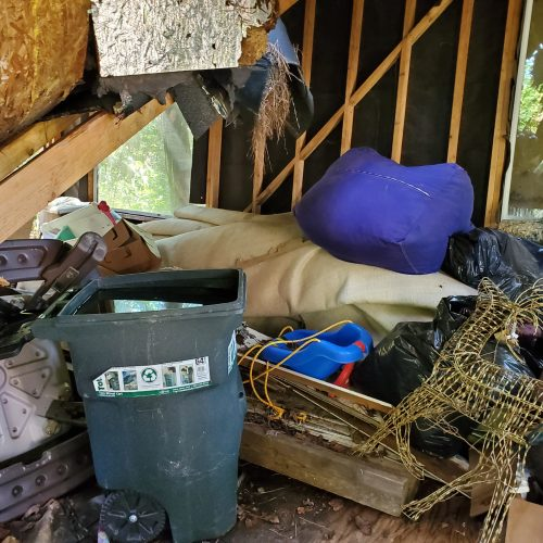 Residential full service junk removal